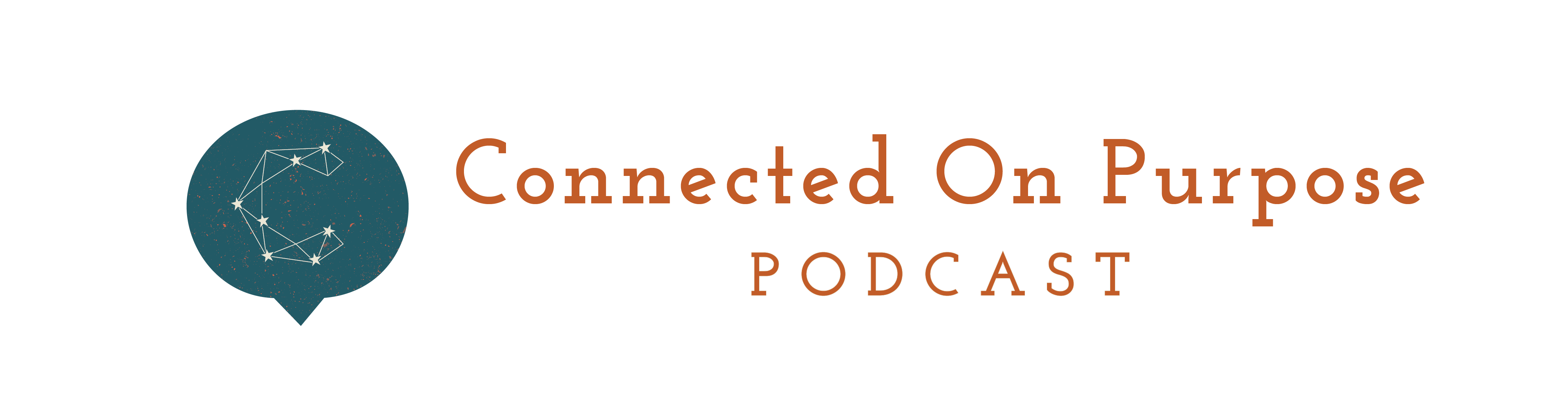 Connected On Purpose Podcast Logo